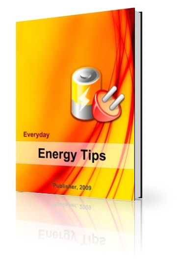 Everyday Energy Tips (PLR)